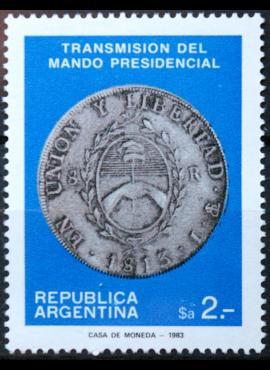 Argentina ScNr 1455 MNH** E