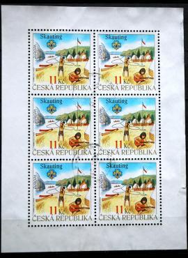 Čekija, mažasis lapukas MiNr 516 Used(O)