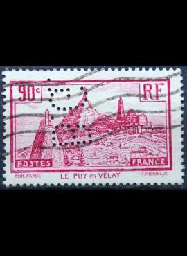 Prancūzija ScNr 290 perfinas Used(O)