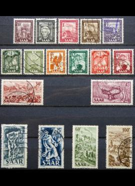 Saras, pilna serija MiNr 272-288 MNH**/Used(O)