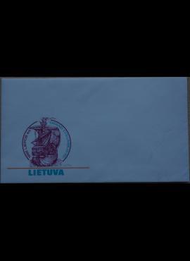 Dailininko A. Šakalio 1992m kolekcinis vokas Nr. 75 G