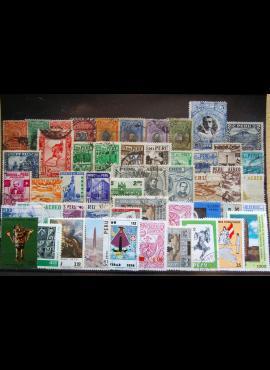 50 vnt. Peru pašto ženklų pakuotė HF020 E