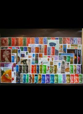 100 vnt. Didžiosios Britanijos pašto ženklų pakuotė HF012