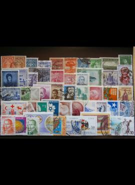 50 vnt. Čilės pašto ženklų pakuotė HF022 E