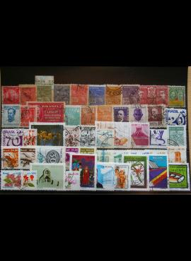 50 vnt. Brazilijos pašto ženklų pakuotė HF024 E