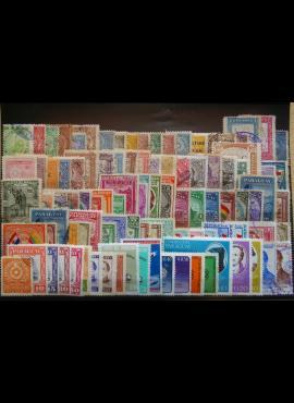 100 vnt. Paragvajaus pašto ženklų pakuotė HF026 E