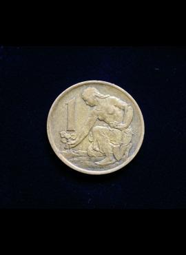 Čekoslovakija, 1 krona 1970m