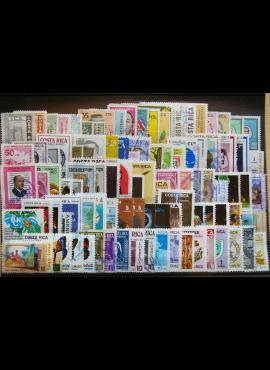 100 vnt. Kosta Rikos pašto ženklų pakuotė HF030 E