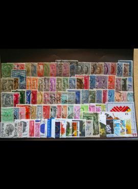 100 vnt. Belgijos pašto ženklų pakuotė HF019