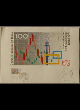 Vokietija, 1991m proginė kortelė