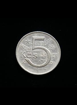 Čekoslovakija, 5 kronos 1969m