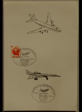 Vokietija, 1976m proginė kortelė