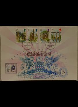 Didžioji Britanija, 1989m filatelijos parodos kortelė