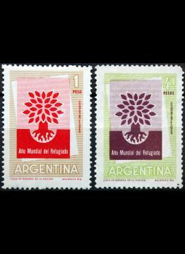 Argentina, pilna serija ScNr 710-711 MNH**/MNG(*) E