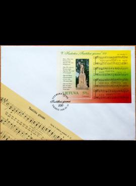 Lietuva, 1998m pirmos dienos vokas su bloku Nr. 13 MiNr 661