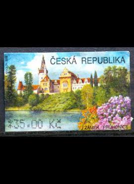 Čekija, pašto automato ženklas MiNr 4 Used(O)
