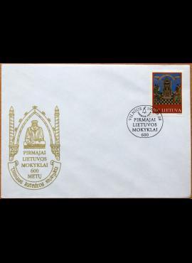Lietuva, 1997m pirmos dienos vokas su MiNr 638
