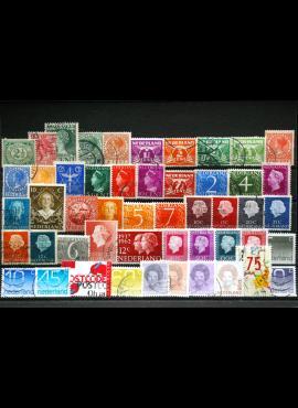50 vnt. Nyderlandų pašto ženklų pakuotė HF016