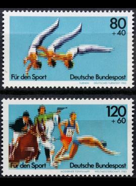 Vokietija, pilna serija MiNr 1172-1173 MNH** V