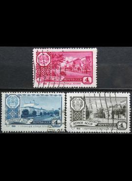 Rusija, TSRS ScNr 2340-2342 Used(O) V