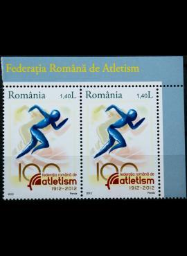 Rumunija, ženklų pora MiNr 6619 MNH** V