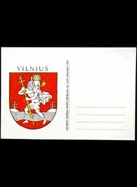 Lietuva 1992m atvirlaiškis **