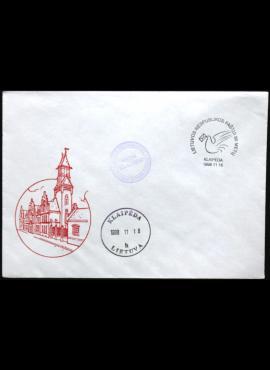 Lietuva, 1998m meninis vokas su proginiais antspaudai (O)