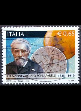 Italija, 2010 m. pašto ženklas Used(O)