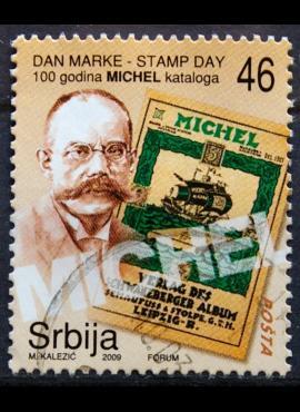 Serbija, 2010 m. pašto ženklas Used(O)