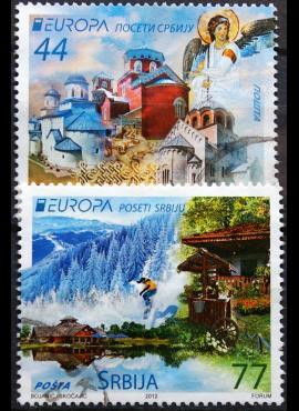 Serbija, 2012 m. pilna serija Used(O)