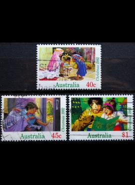 Australija, pilna serija ScNr 1303-1305 Used(O)