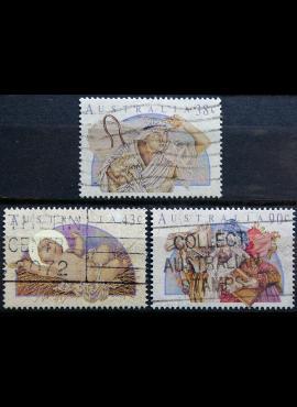Australija, pilna serija ScNr 1231-1233 Used(O)