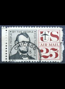 JAV, oro paštas ScNr C59 Used(O)