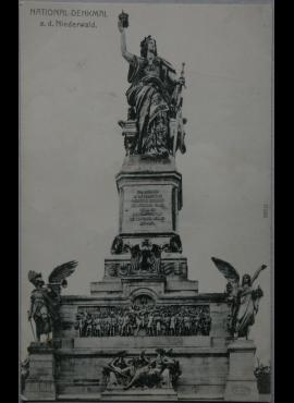 Vokietijos Reichas, Niederwald, 1906m atvirlaiškis