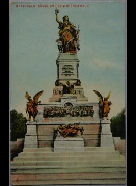 Vokietijos Reichas, Niederwald, 1913m atvirlaiškis