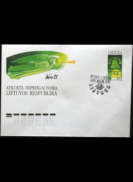 Lietuva, ženklinis, proginis vokas KvNr C11
