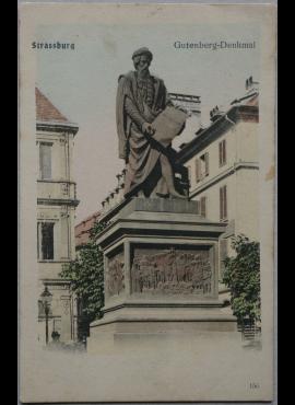 Vokietijos Reichas, Strazbūras, 1906m atvirlaiškis