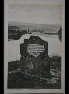 Vokietijos Reichas, Hannmundenas, 1921m atvirlaiškis