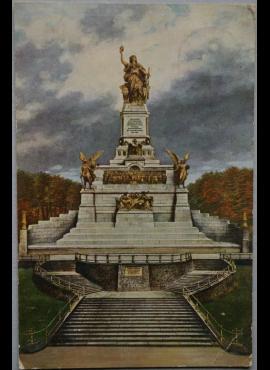 Vokietijos Reichas, Niederwaldas, 1910m atvirlaiškis