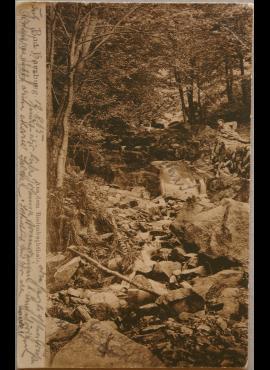 Vokietijos Reichas, Bad Harzburgas, 1905m atvirlaiškis