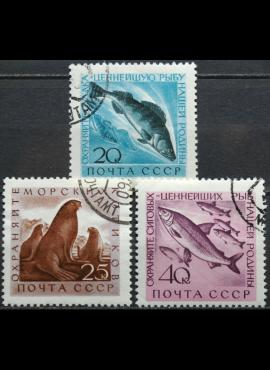 Rusija, TSRS, pilna serija ScNr 2375-2377 Used(O) V
