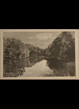 Vokietijos Reichas, Bad Pyrmontas, 1904m atvirlaiškis