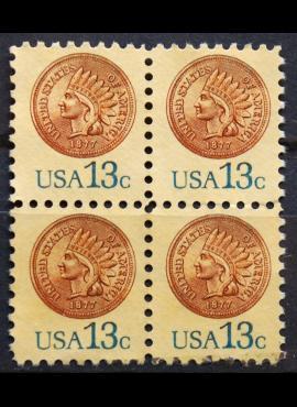 JAV, kvartblokis ScNr 1734 Used(O)