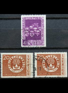 Švedija, pilna serija ScNr 553-555 Used(O) G