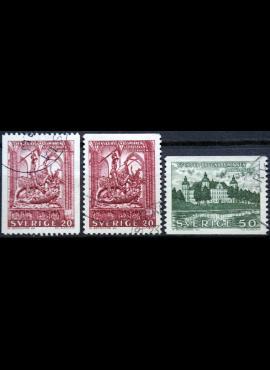 Švedija ScNr 613-615 Used(O) G