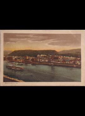 Vokietijos Reichas, Boppardas 1920m atvirlaiškis