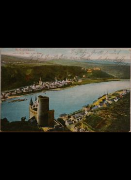 Vokietijos Reichas, St. Goarshausenas 1906m atvirlaiškis