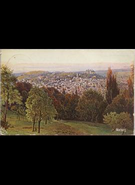 Vokietijos Reichas, Marburgas 1914m atvirlaiškis