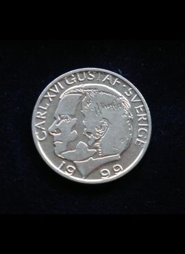 Švedija, 1 krona 1999m