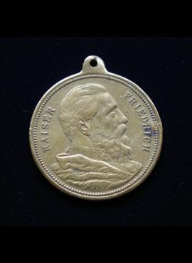 Vokietijos Imperija, imperatoriaus Frydricho III mirties atminimo medalis, 1888m